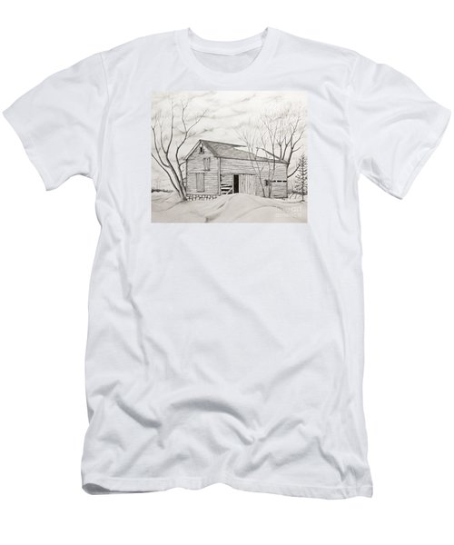 The Old Barn Inwinter Men's T-Shirt (Athletic Fit)