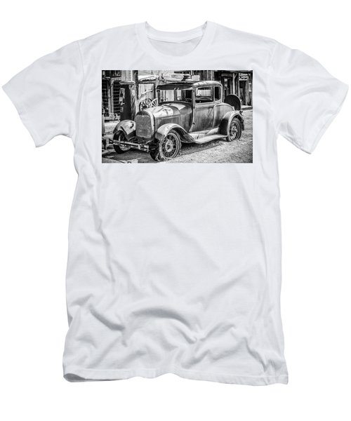 The Old Model Men's T-Shirt (Slim Fit) by Marius Sipa