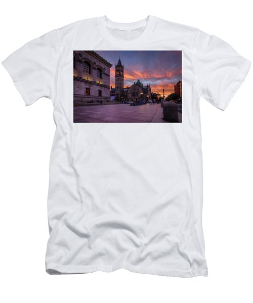 The Old South Church At Sunset Men's T-Shirt (Athletic Fit)