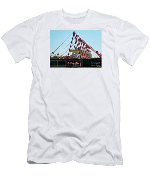 Men's T-Shirt (Slim Fit) featuring the photograph The Patscentre by Lyric Lucas