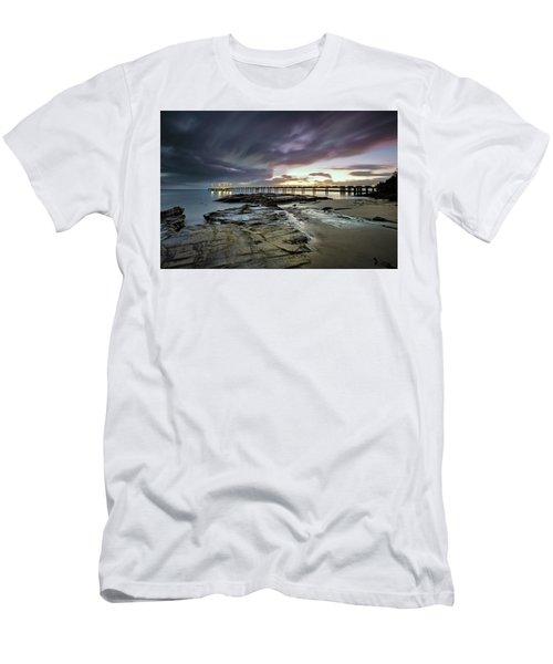 The Pier @ Lorne Men's T-Shirt (Athletic Fit)