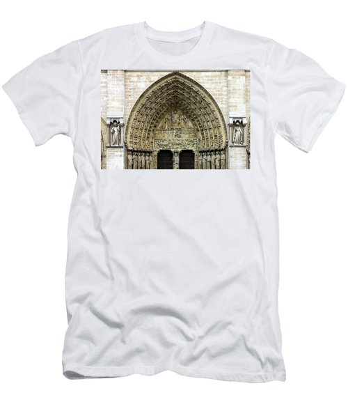 The Portal Of The Last Judgement Of Notre Dame De Paris Men's T-Shirt (Athletic Fit)