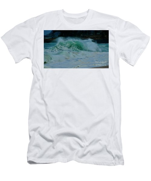 The Power Of Waves Men's T-Shirt (Athletic Fit)