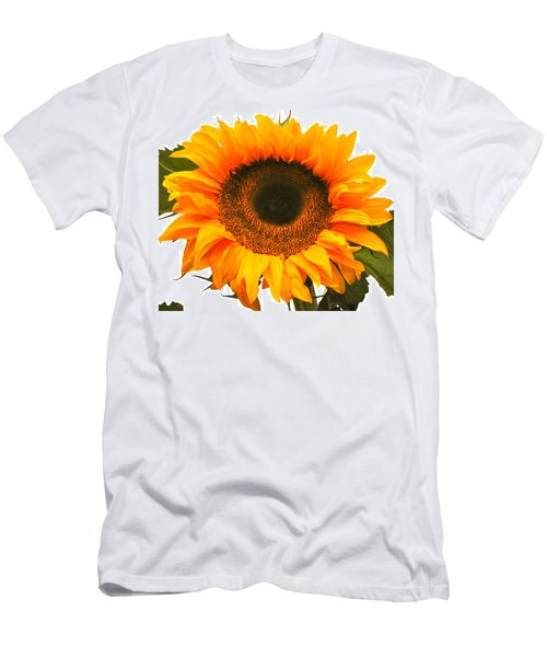 The Prettiest Sunflower Men's T-Shirt (Athletic Fit)