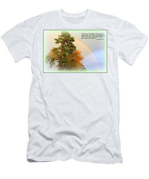 The Promises Of God Men's T-Shirt (Athletic Fit)