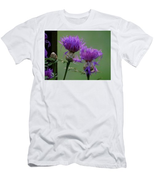 The Purple Bloom Men's T-Shirt (Athletic Fit)