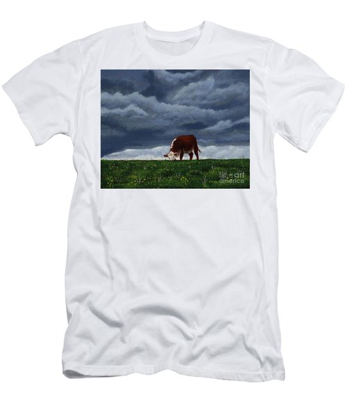 The Quiet Before The Storm Men's T-Shirt (Athletic Fit)
