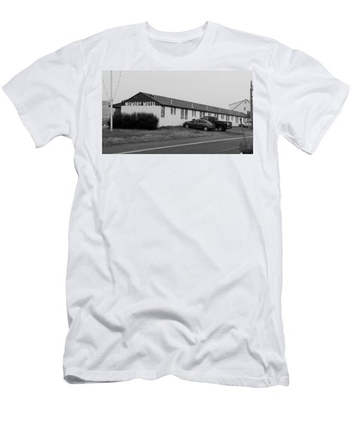 The Rolling Stones' Memory Motel Montauk New York Men's T-Shirt (Athletic Fit)