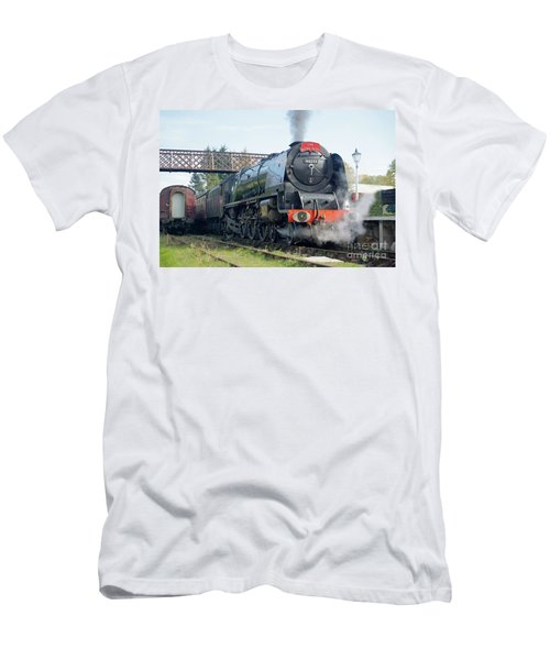 The Royal Scot At Butterley Men's T-Shirt (Athletic Fit)