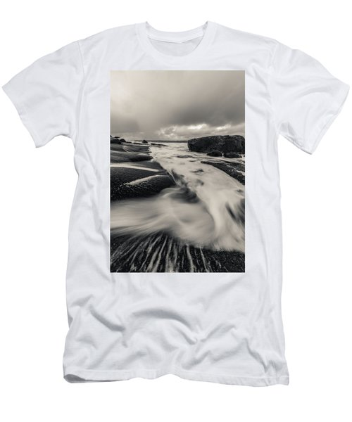 The Rush Of The North Sea Men's T-Shirt (Athletic Fit)