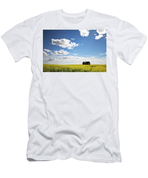 Men's T-Shirt (Slim Fit) featuring the photograph The Saskatchewan Prairies II by Ryan Crouse