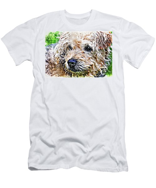 The Scruffiest Dog In The World Men's T-Shirt (Athletic Fit)