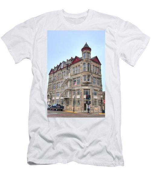 The Sedalia Trust Building Men's T-Shirt (Athletic Fit)