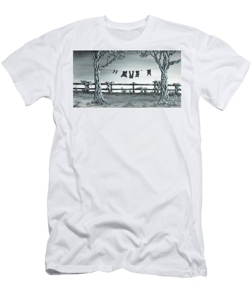 The Show Off Men's T-Shirt (Slim Fit) by Kenneth Clarke