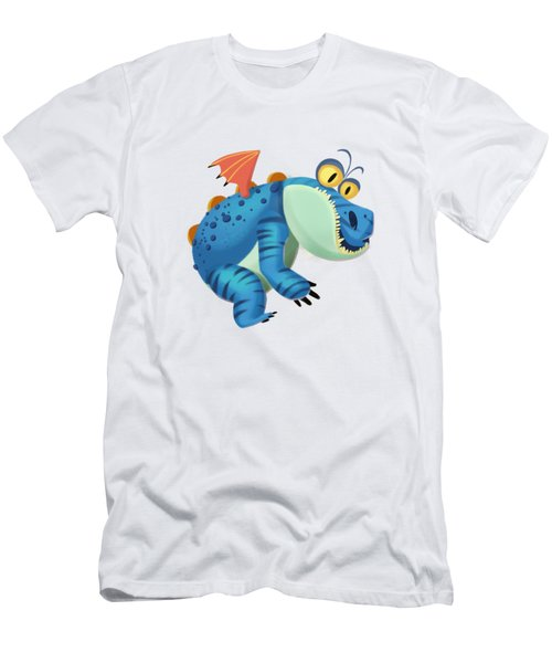 The Sloth Dragon Monster Men's T-Shirt (Slim Fit) by Next Mars