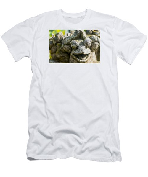 the Smiling Frog Men's T-Shirt (Athletic Fit)