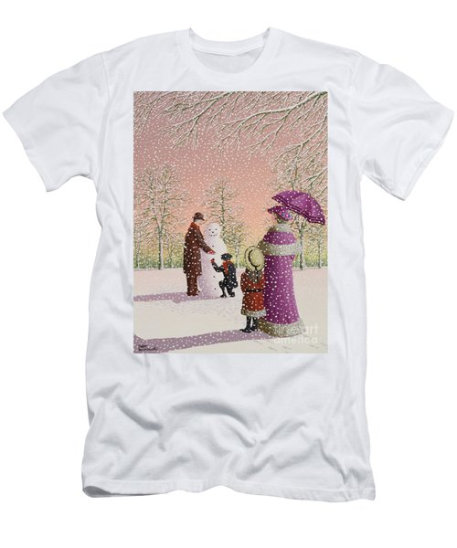 The Snowman Men's T-Shirt (Athletic Fit)