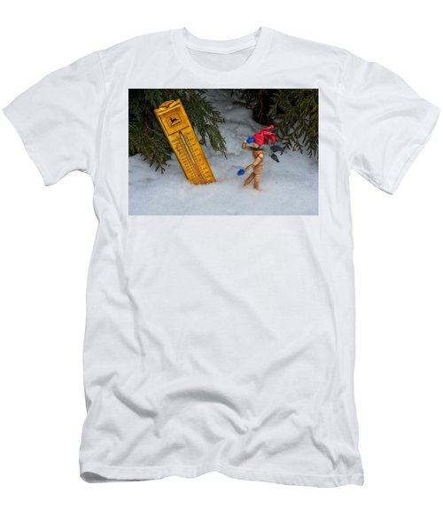 The Snowstorm Men's T-Shirt (Athletic Fit)