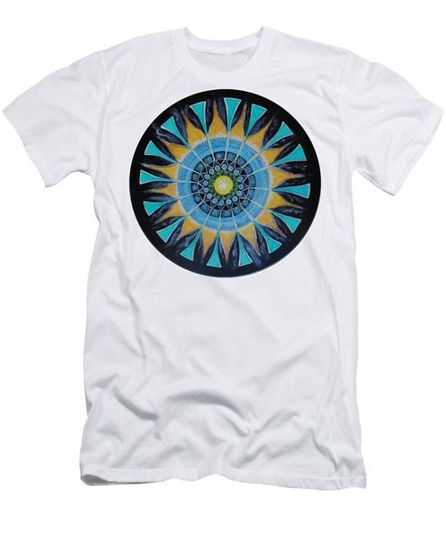 The Soul Mandala Men's T-Shirt (Slim Fit) by Patricia Arroyo