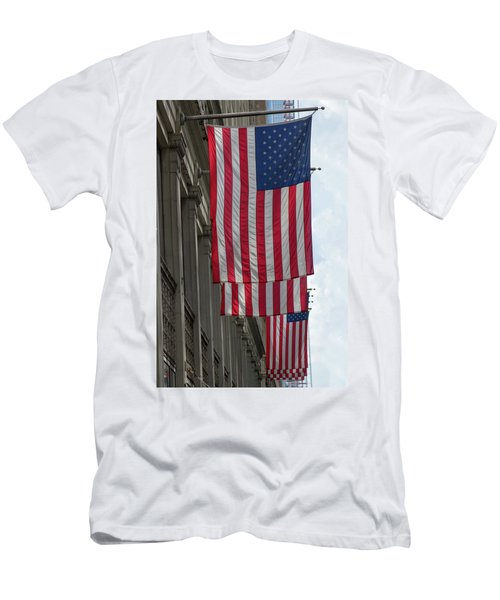 The Stars And Stripes Men's T-Shirt (Athletic Fit)