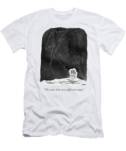 The Stars Look Very Different Today Men's T-Shirt (Athletic Fit)