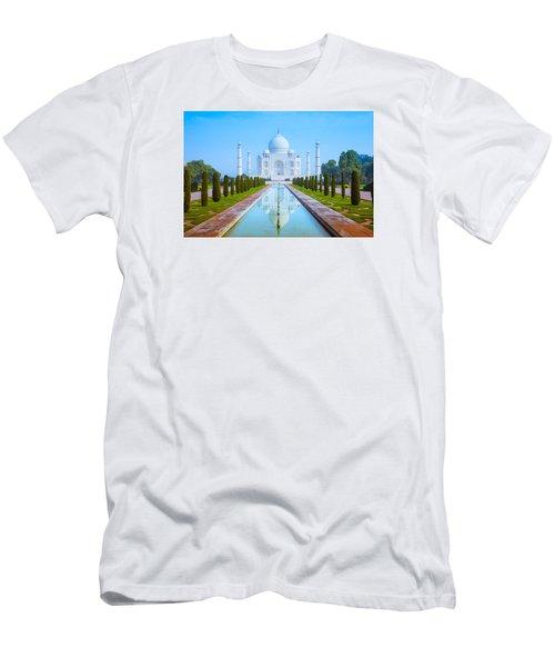 The Taj Mahal Of India Men's T-Shirt (Athletic Fit)