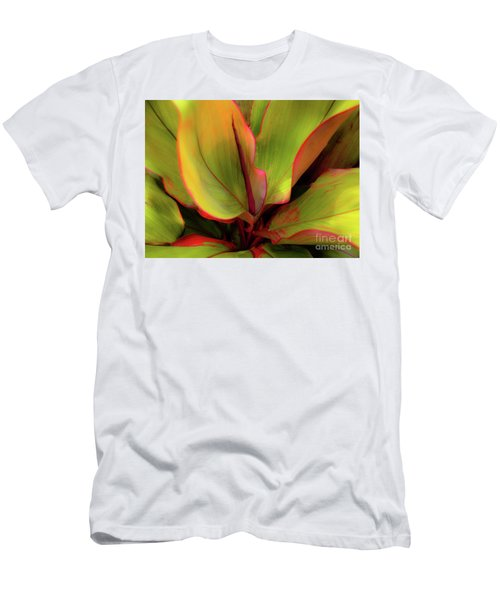 The Ti Leaf Plant In Hawaii Men's T-Shirt (Athletic Fit)