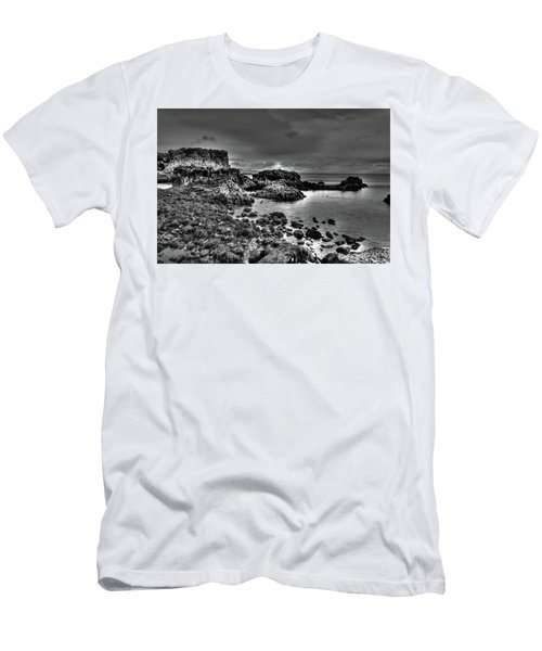 The Tide Pools At Hellnar At Low Tid Men's T-Shirt (Athletic Fit)