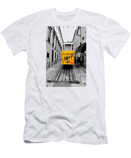 The Tram Men's T-Shirt (Slim Fit) by Marwan Khoury