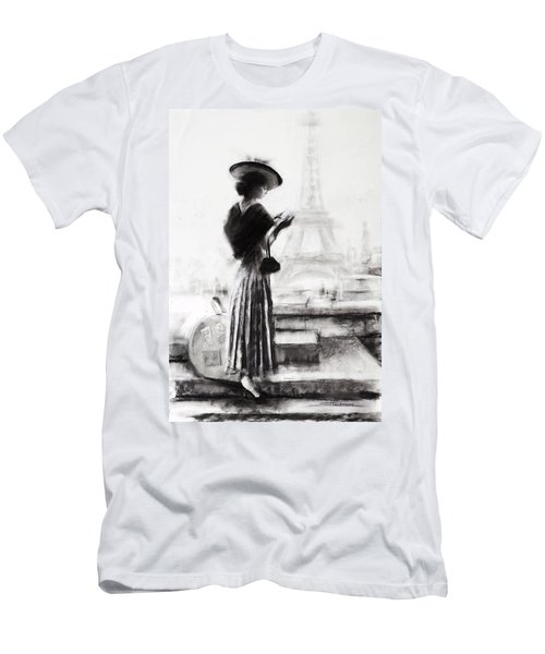 The Traveler Men's T-Shirt (Athletic Fit)