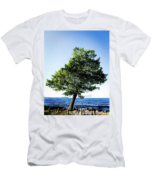 Men's T-Shirt (Athletic Fit) featuring the photograph The Tree by Onyonet  Photo Studios