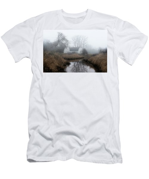 The Twin Barns Of Nisqually Men's T-Shirt (Athletic Fit)