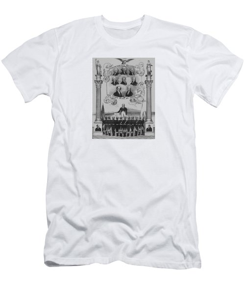 The Union Must Be Preserved Men's T-Shirt (Slim Fit) by War Is Hell Store
