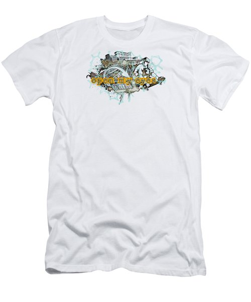 The Vail Is Upon Their Heart.  Men's T-Shirt (Athletic Fit)