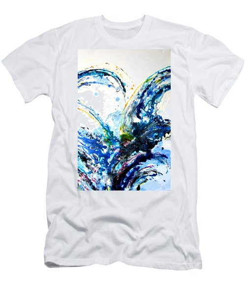 The Wave 2 Men's T-Shirt (Slim Fit) by Roberto Gagliardi