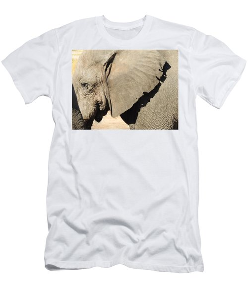 Men's T-Shirt (Slim Fit) featuring the photograph The Weathered Look by Betty-Anne McDonald