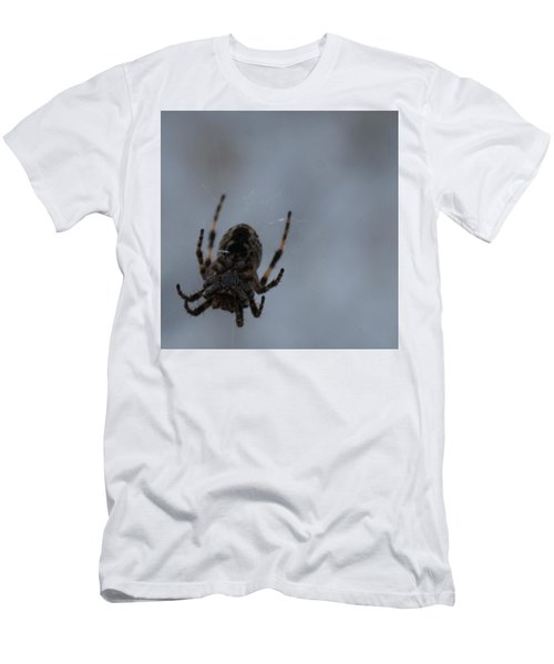 Men's T-Shirt (Slim Fit) featuring the photograph The Webs We Weave by Ramona Whiteaker