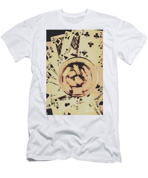 The Wild West Casino  Men's T-Shirt (Athletic Fit)