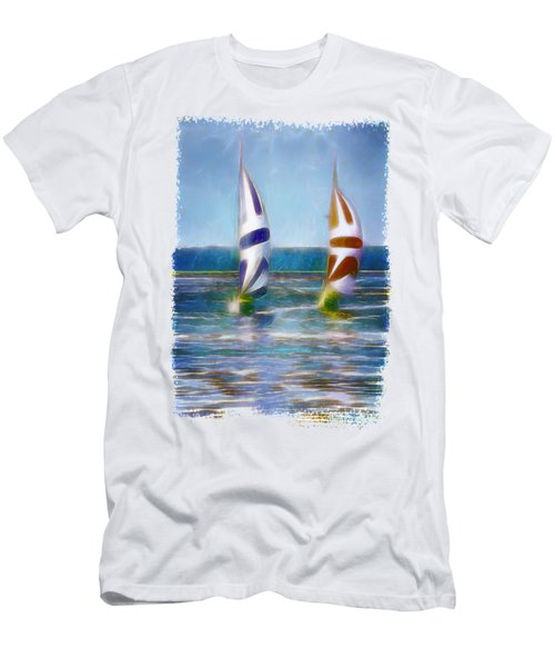 The Wind In Your Sails Men's T-Shirt (Athletic Fit)