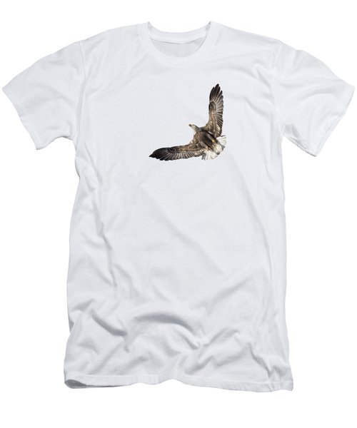 The Wings Of An Eagle 2018 Isolated Men's T-Shirt (Athletic Fit)
