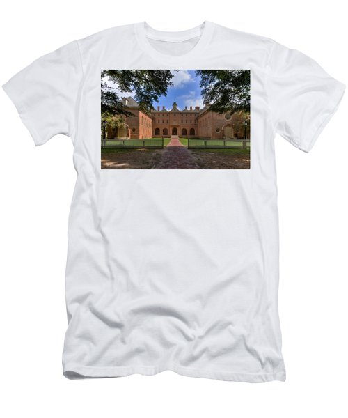 The Wren Building At William And Mary Men's T-Shirt (Athletic Fit)