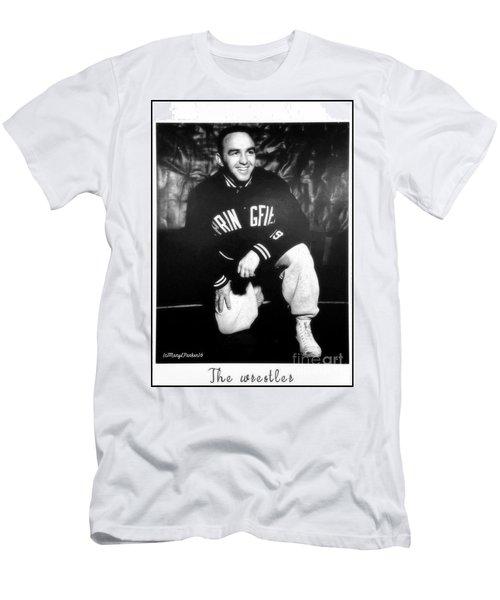 The Wrestler  Men's T-Shirt (Athletic Fit)