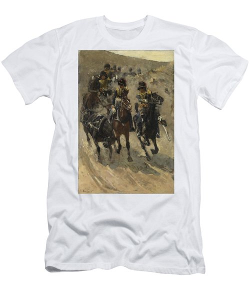 The Yellow Riders, George Hendrik Breitner, 1885 - 1886 Men's T-Shirt (Athletic Fit)