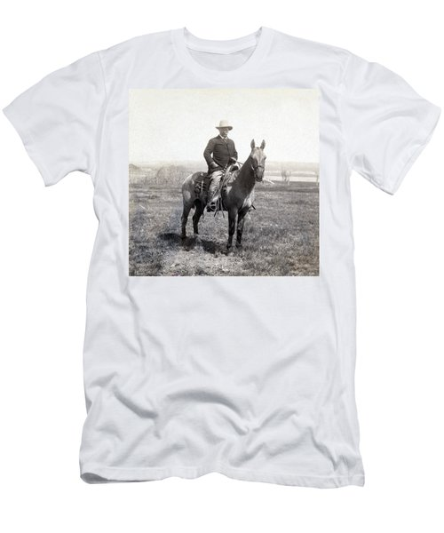 Theodore Roosevelt Horseback - C 1903 Men's T-Shirt (Athletic Fit)