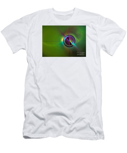 Theory Of Green - Abstract Art Men's T-Shirt (Athletic Fit)