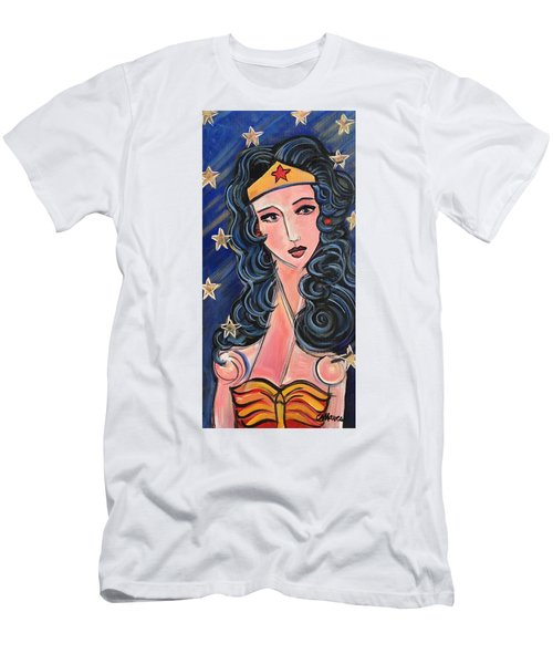 There's A Wonder Woman In Us All Men's T-Shirt (Athletic Fit)