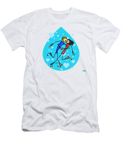 Thin Lovers Men's T-Shirt (Athletic Fit)