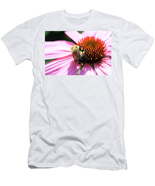 Think Bees Men's T-Shirt (Slim Fit) by Paula Guttilla