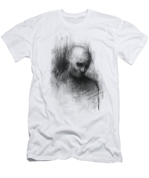 Thinker II Men's T-Shirt (Slim Fit) by Bruno M Carlos