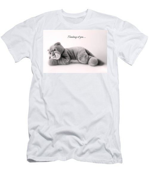Men's T-Shirt (Slim Fit) featuring the photograph Thinking Of You by Gina Dsgn